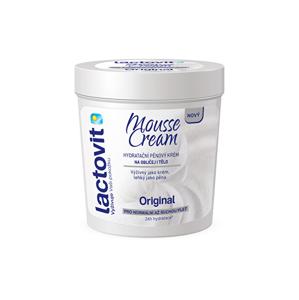 Lactovit Hydratačný penový krém na tvár i telo Original Mousse Cream 250 ml