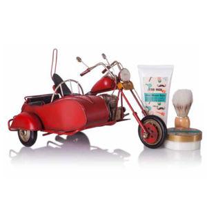 Lady Cotton Darčeková sada starostlivosť na holenie Motorcycle With Sidecar