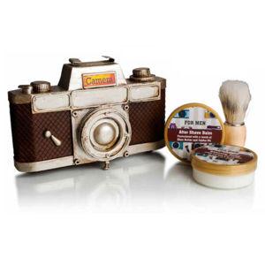 Lady Cotton Darčeková sada starostlivosť na holenie Vintage Collection Camera