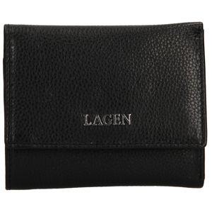 Lagen Dámska kožená peňaženka tg-063 Black