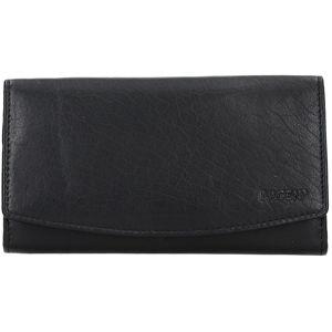 Lagen Dámska kožená peňaženka v-14 Black