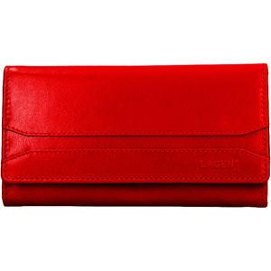 Lagen Dámska kožená peňaženka W-2025 / B Red