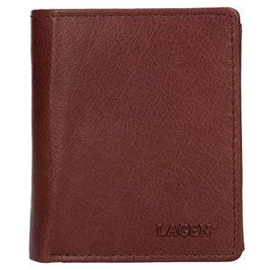 Lagen Pánska kožená peňaženka 02310004 Brown