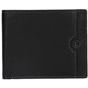 Lagen Pánska kožená peňaženka blc / 4231/219 Black