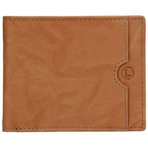 Lagen Pánska kožená peňaženka blc / 4231/219 Tan