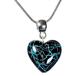 Lampglas Tajomný náhrdelník Night Fairy s perlou Lampglas s rýdzim striebrom NLH4