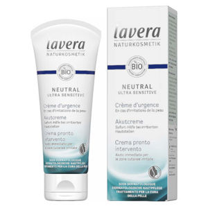 Lavera SOS krém s mikrostriebra Neutral Ultra Sensitiv e (Intensive Treatment Cream) 75 ml