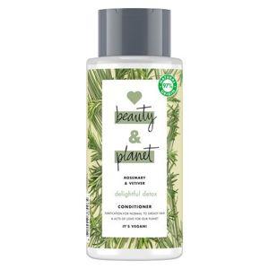 Love Beauty and Planet Čistiace kondicionér s rozmarínom a vetiverom pre normálne a mastné vlasy (Delightful Detox Conditioner) 400 ml
