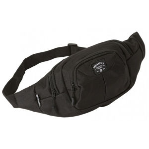 Meatfly Ľadvinka Wall y Waist Bag A- Black