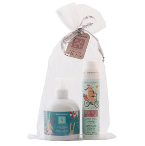 MANUFAKTURA Darčekový balíček extra jemnej detskej kozmetiky Baby Friendly