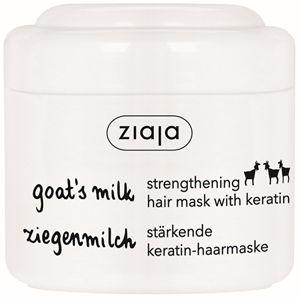 Ziaja Maska na suché a matné vlasy s keratínom Goat`s Milk 200 ml