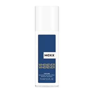 Mexx Whenever Men dezodorant sklo 75 ml