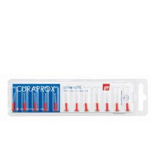 Curaprox Náhradné medzizubné kefky Prime 07 - 2,5 mm Červené (Refill)