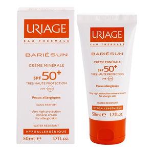 Uriage Minerálne ochranný krém na tvár a telo SPF 50+ Bariésun (Very High Protection Mineral Cream) 50 ml