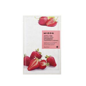 Mizon Plátýnková 3D maska s jahodami pre zjemnenie a Antioxidácia- pleti Joyful Time (Essence Mask Strawberry) 23 g