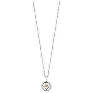 Morellato Oceľový bicolor náhrdelník Versilia SAHB01