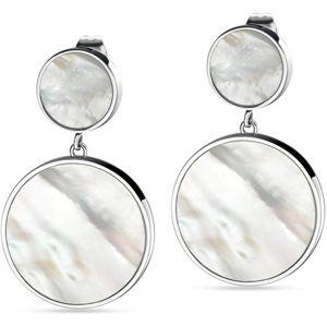 Morellato Strieborné visiace náušnice s perleťou Perfetti SALX07