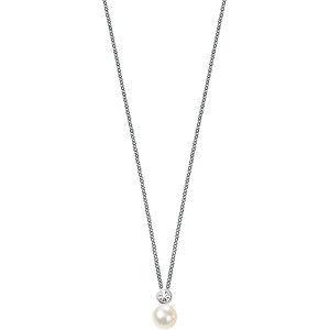 Morellato Strieborný náhrdelník Perla SANH02 (retiazka, prívesok)