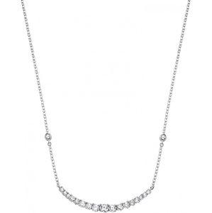 Morellato Strieborný náhrdelník so zirkónmi Tesoro SAIW01