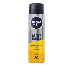 Nivea Antiperspirant v spreji Men Active Energy (Anti-perspirant) 150 ml