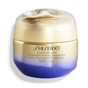 Shiseido Nočný liftingový spevňujúci krém Vital Perfection (Overnight Firming Treatment) 50 ml