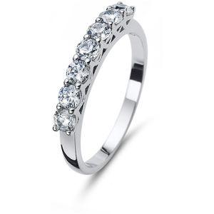 Oliver Weber Trblietavý strieborný prsteň 63239R