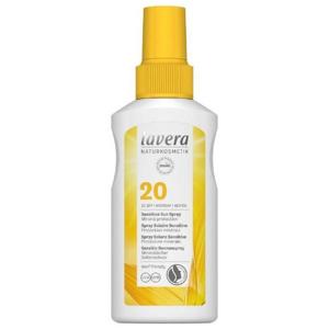 Lavera Opaľovací sprej Sensitiv SPF 20 ( Sensitiv e Sun Spray) 100 ml