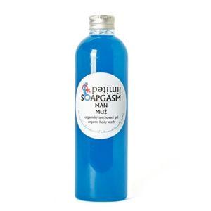 Soaphoria Organický sprchový gél Soapgasm Muž (Organic Body Wash) 250 ml
