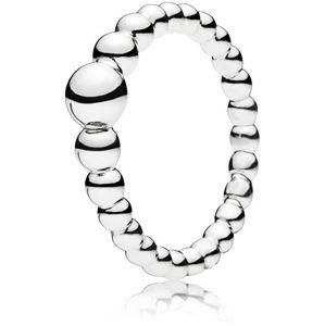 Pandora Strieborný obrúbený prsteň 197536