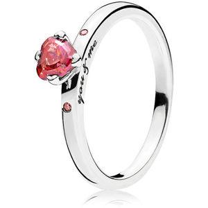 Pandora Strieborný prsteň Ty a ja 196574CZRMX