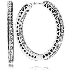 Pandora Trblietavé náušnice kruhy 296319CZ