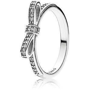Pandora Trblietavý prsteň s mašličkou 190906CZ