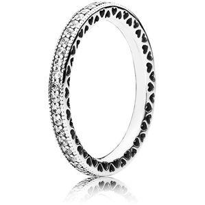 Pandora Zamilovaný prsteň s kryštálmi 190963CZ-56