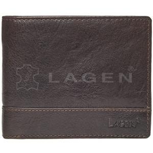 Lagen Pánska kožená peňaženka V-76 / T D.BRN