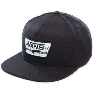 VANS Pánska šiltovka Full Patch Snapback True Black VN000QPU9RJ1