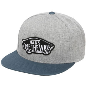 VANS Pánska šiltovka MN Class ic Patch Sna Heather Grey / St VN000TLSYMK1