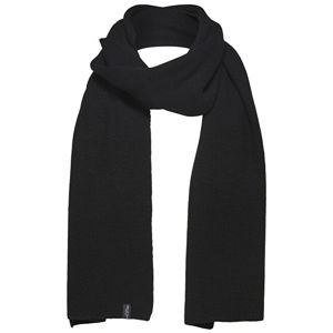 SELECTED HOMME Pánsky šál SLHNEWWOOL SCARF W Black