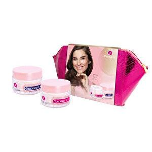 Dermacol Collagen+ Rejuvenating SPF10 intenzivní omlazující denní krém 50 ml + noční krém 50 ml + etue darčeková sada