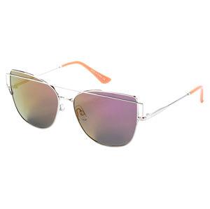 Meatfly Polarizačné okuliare Vision A-Silver, Peach