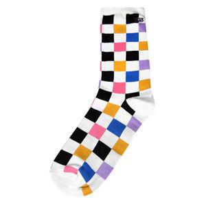VANS Ponožky Ticker Sock Multi Check VN0A49ZDJ4E1