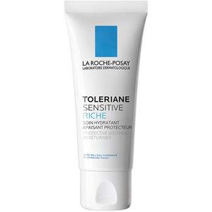 La Roche Posay Prebiotický denný hydratačný krém pre zmiernenie citlivosti pleti Toleriane (Sensitive Rich Protective Soothing Moisturiser) 40 ml