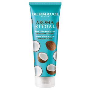 Dermacol Relaxačné sprchový gél Brazílsky kokos Aroma Ritual (Relaxing Shower Gel) 250 ml