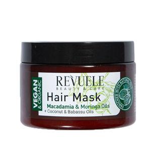 Revuele Maska na vlasy s výťažkami z makadamie a moringy Beauty & Care ( Hair Mask) 360 ml