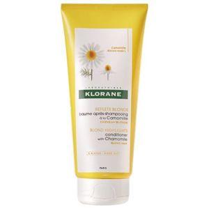Klorane Rozjasňujúci kondicionér pre blond vlasy s harmančekom (Blond Highlights Conditioner With Chamomile) 200 ml