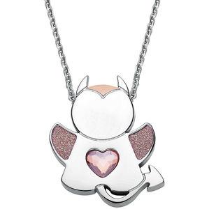 S`Agapõ Oceľový náhrdelník Angel or Devil SNG10