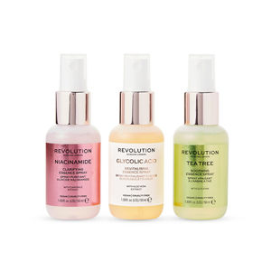 Revolution Sada mini sprejov Mini Essence Spray Kit: So Soothing 3 x 50 ml