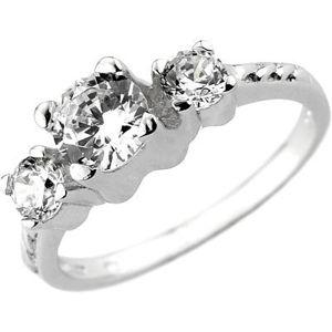 Silvego Zirkónový zásnubný prsteň Via zo striebra JJJR0801