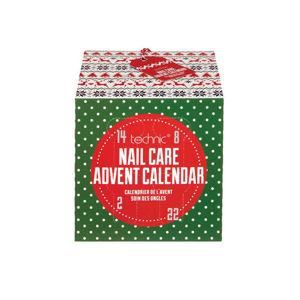 Technic Technic Adventný kalendár Christmas Novelty Nail Care Advent Calendar