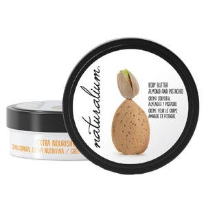 Naturalium Tělové maslo s výťažkom z mandlí a pistácií (Extra Nourishing Body Butter Almond & Pistachio) 200 ml