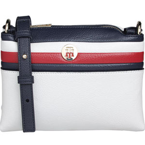 Tommy Hilfiger Dámska crossbody kabelka Th Core Crossover Corp CORPORATE WHITE